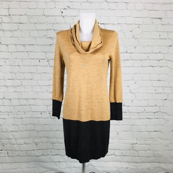 LOFT Dresses & Skirts - Ann Taylor Petite Cowl-neck Sweater Dress Sz MP